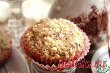 Клубничные маффины с шоколадом Кулинарный рецепт