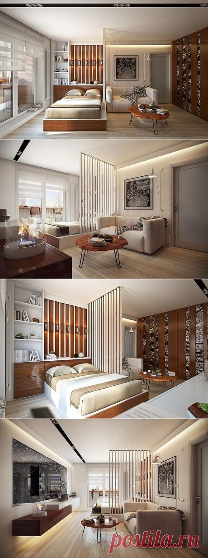 Дизайн- проект однокомнатной квартиры — Lodgers - Дизайн интерьера