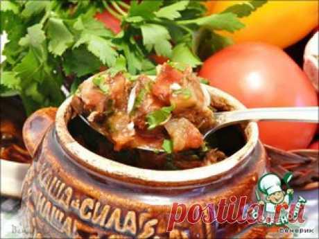 Чанахи - кулинарный рецепт