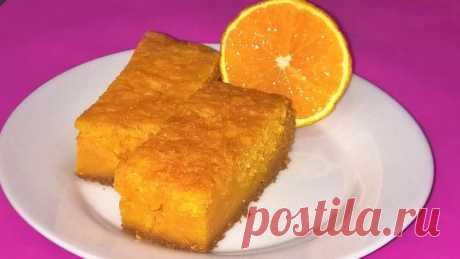 Тыквенный манник-вкусный осенний десерт Представляем вам рецепт оригинального манника. Готовить мы его будем без муки, куриных яиц и масла. А еще наш манник мы будем пропитывать, как восточные сладости.Поэтому наш манник будет очень сочным…