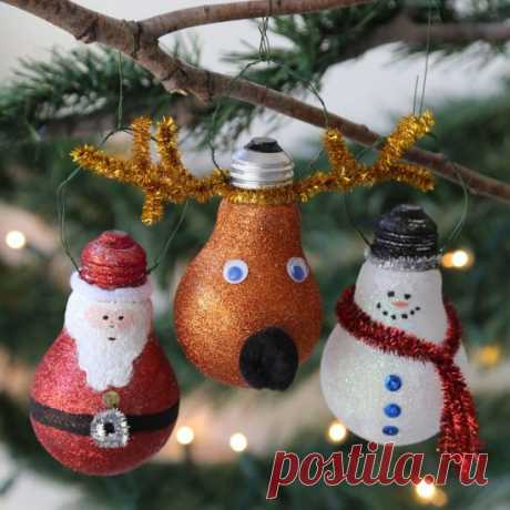 Свет Лампы Рождественские Украшения Ремесла Симпатичные Идеи | В WHOot