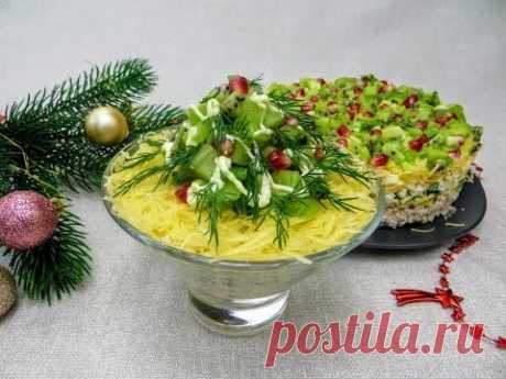 Забудьте про оливье и шубу! Салат от соседки немки   просто, вкусно и по-новогоднему!