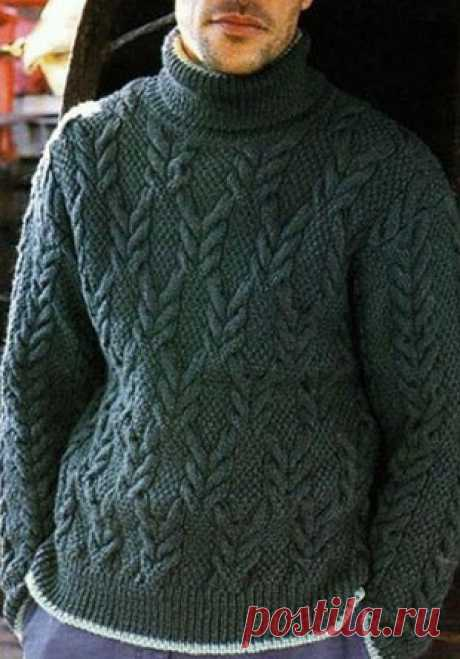 Мужской пуловер 2020
