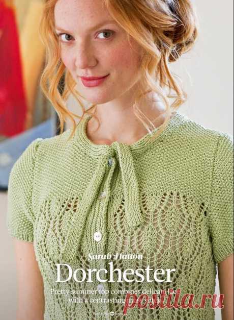 Кофточка Dorchester, The Knitter 60