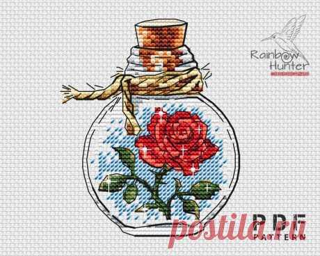 The little Prince cross stitch pattern PDF Bottle cross | Etsy