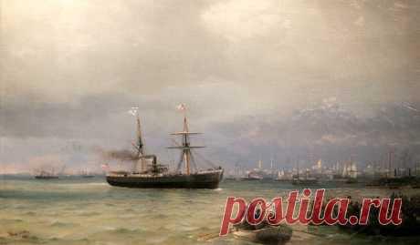 Запрещенная картина Айвазовского «Раздача продовольствия»