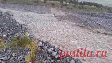 Галька «начинает себя вести как жидкость, несмотря на то, что ее плотность выше, чем у воды». Посмотрите на необычный феномен, возникший в Новой Зеландии.