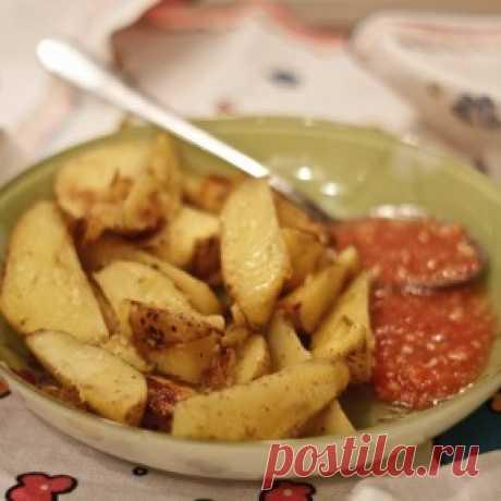 Как приготовить картошку по-деревенски в мультиварке |
