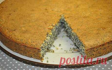Рецепт макового пирога в мультиварке - Пирог в мультиварке . 1001 ЕДА вкусные рецепты с фото!