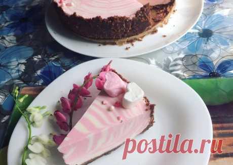 (8) Чизкейк «Зебра» - пошаговый рецепт с фото. Автор рецепта Виктория Калинина . - Cookpad