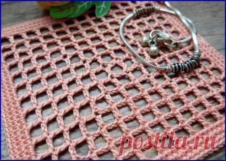 Вязание сеточки