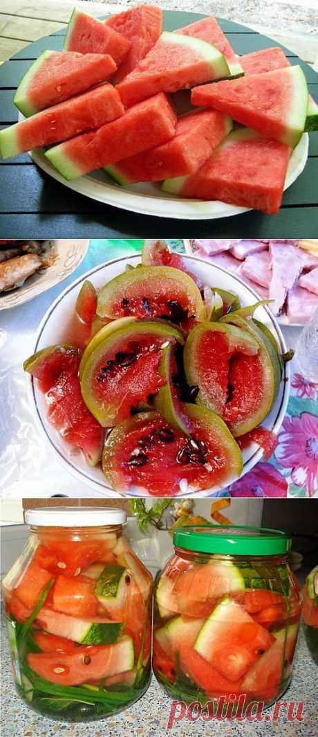 Маринуем и солим.. арбузы / Простые рецепты