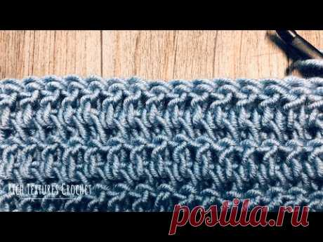 Double Crochet Thermal Stitch - How to Crochet