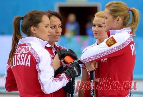 Самая красивая Сборная по керлингу из России