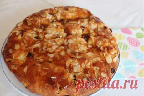Немецкий пасхальный хлеб Osterbrot рецепт с фото - Приглашаем к столу