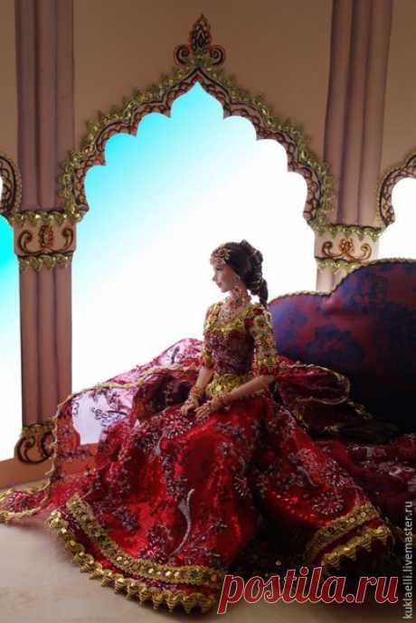 Unusual world of dolls of the master Larisa Isaeva