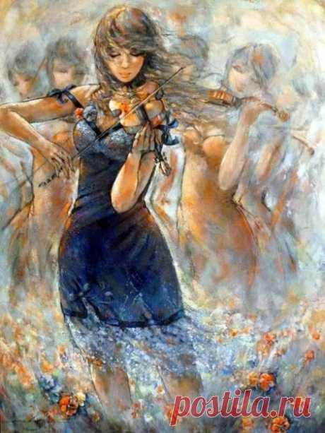 Фантастичные картины Дженни Сайнт Черон (20 работ)