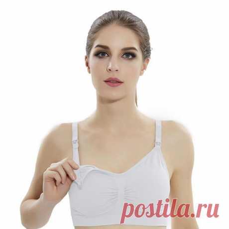 Трикотажный топ-бюстье для беременных и кормящих женщин белый 80-90 вс за 245 грн. | Шафа