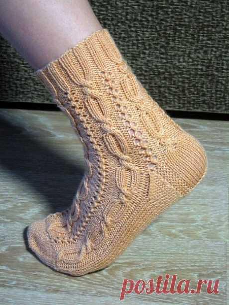 Узоры для носочков
