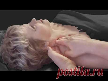 Массаж лестничных мышц при болях в шейном, грудном отделах, онемении рук, головных болях