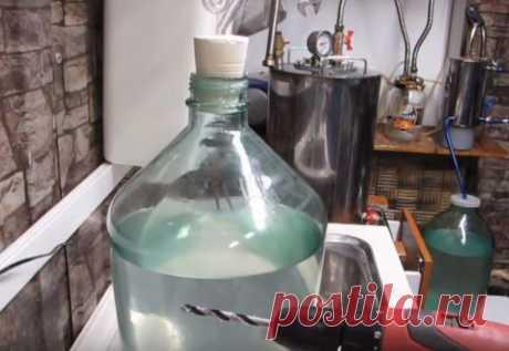 Как сделать пробку на 20 литровый бутыль: простой и надежный способ 👌 | КРОТ.NET - Еженедельный Журнал | Яндекс Дзен