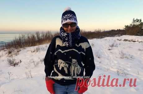 ВСЕ СВЯЗАНО. ROSOMAHA.: Самый тёплый снуд этой зимы. К любому наряду!