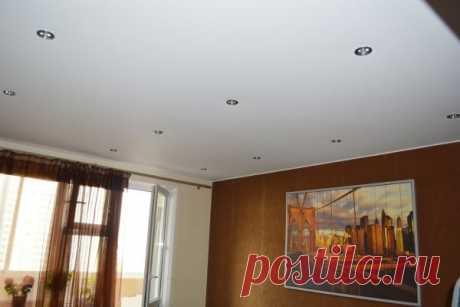 Натяжные потолки в интерьере: подбор, цена, фото, отзывы