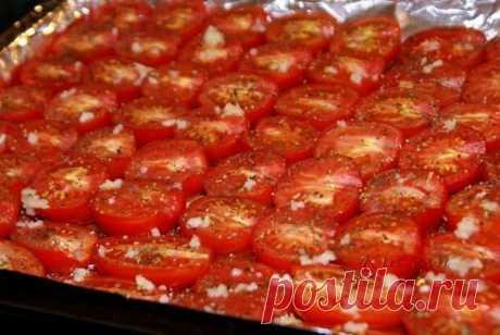 Вяленые помидоры - кулинарный шедевр