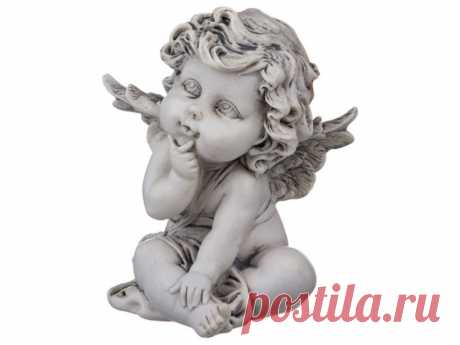 "Продаем Фигурка коллекция ""amore grey angel"" высота=11,5 см. Chaozhou Fountains&statues (390-1057) по цене 367 RUB"