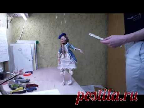 Екатерина Купцова 11.04.18 Приспособление для куклы-марионетки