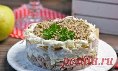 Потрясающе вкусный салат «Анютка», который подойдет для любого праздника
