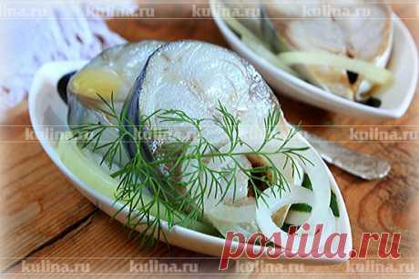 Скумбрия в пряном маринаде – рецепт приготовления с фото от Kulina.Ru