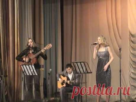 Авторский концерт Владимира Сидорова 31 октября 2011 года в большом концертном зале Магнитогорской консерватории с участием вокалистов эстрадного отделения.