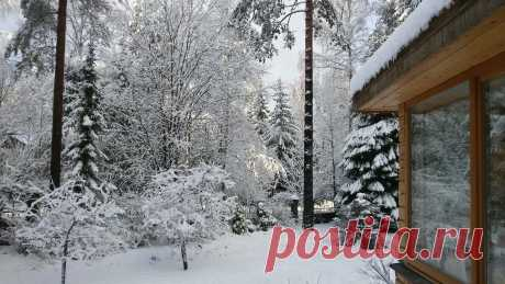 Как правильно: Приспособить участок для проживания зимой | Houzz Россия