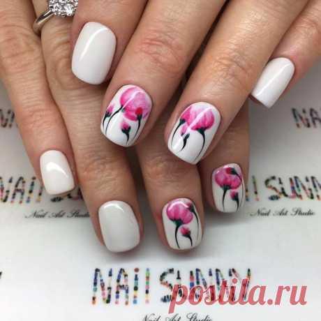 Идеи маникюра для коротких ногтей / Все для женщины