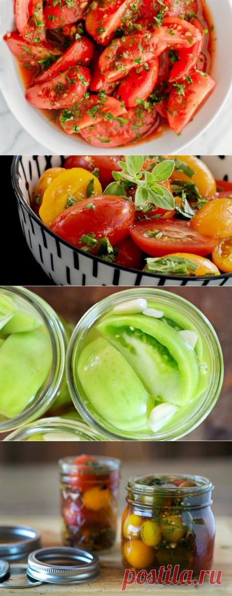 Быстрые малосольные помидоры: 7 оригинальных рецептов любимой закуски | Статьи (Огород.ru)