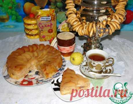 Янтарный торт от Т. Л. Толстой - кулинарный рецепт