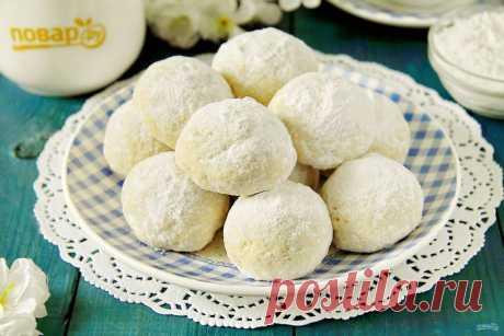 """Печенье """"Снежок"""" - пошаговый рецепт с фото на Повар.ру"""