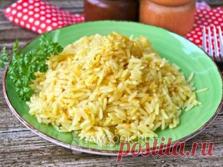 Рис с карри — рецепт с фото Веганский гарнир из риса с карри. Подходит для постного меню.