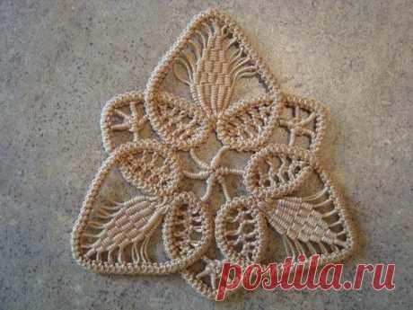 Румынское (шнурковое) кружево