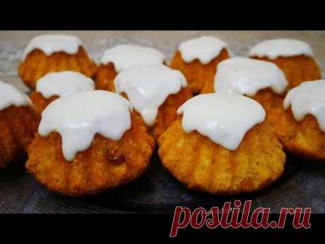 РОМОВАЯ БАБА простой и вкусный рецепт АРОМАТНОЙ домашней выпечки