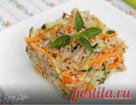 Салат из бурого риса с тунцом рецепт 👌 с фото пошаговый | Едим Дома кулинарные рецепты от Юлии Высоцкой