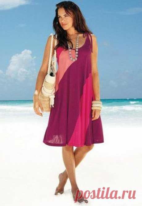 5 моделей пляжных платьев СШИТЬ ПЛАТЬЕ СВОИМИ РУКАМИ