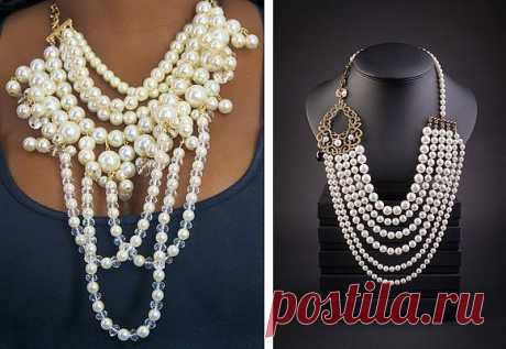 Жемчужное ожерелье – образ для прекрасной особы