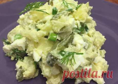 (11) Немецкий салат - пошаговый рецепт с фото. Автор рецепта Сабина Черепанова . - Cookpad