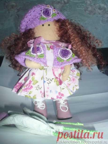 Кукла Сиренька с тюльпанами – купить в интернет-магазине HobbyPortal.ru с доставкой
