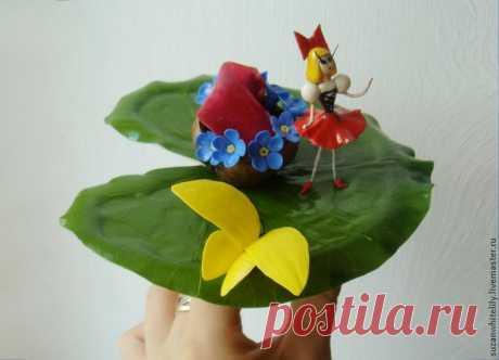 Лепка цветочной феи из полимерной глины - Ярмарка Мастеров - ручная работа, handmade