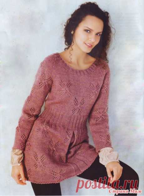 Tunic spokes - Knitting - the Country of Mothers