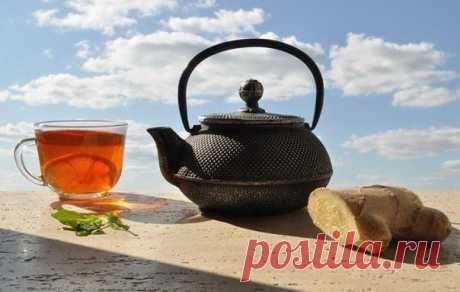 Имбирный чай. Здоровье, красота и бодрость вам обеспечены! — Мегаздоров