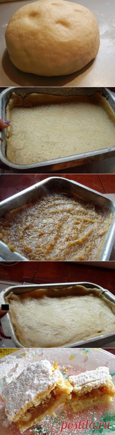 Турецкий яблочный пирог - остается долго свежим и супер сочным! | Четыре вкуса